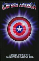 Captain America (1990 film) poster