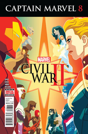 Captain Marvel Vol 9 8