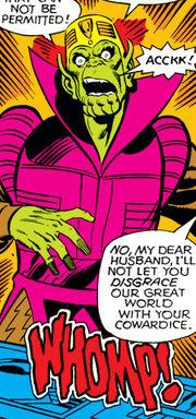 Dorrek VII (Earth-616) from Fantastic Four Vol 1 209 0002