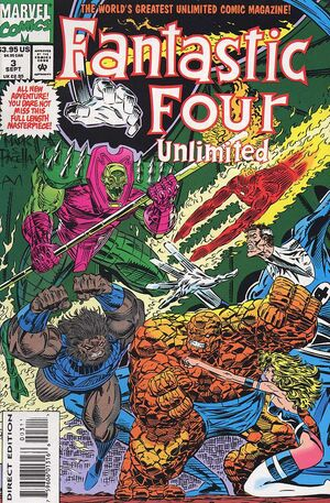 Fantastic Four Unlimited Vol 1 3