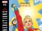 Generations: Captain Marvel & Captain Mar-Vell Vol 1 1