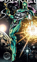 Genis-Vell (Earth-616) from Captain Marvel Vol 5 9 0001