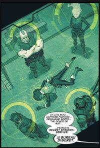 Le Bureau Discret (Earth-616) from X-Force Vol 4 4 003