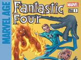 Marvel Age: Fantastic Four Vol 1 1