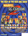 Marvel vs Capcom 2 flyer
