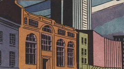 New Scotland Yard from Captain Britain Vol 1 3 001