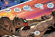 Peter Parker (Earth-616) and Nicholas Fury, Jr. (Earth-616) from Amazing Spider-Man Vol 4 9 001