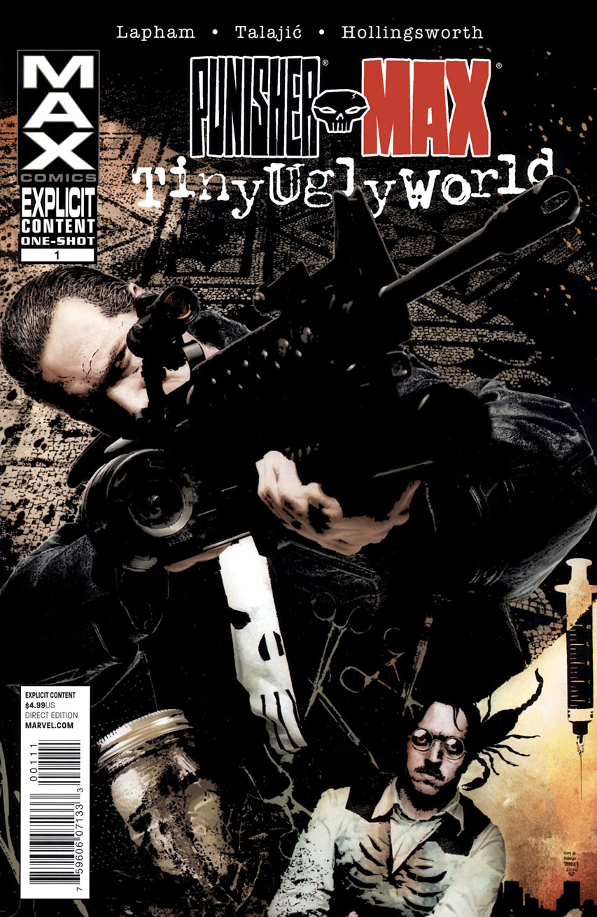 Punisher Max Tiny Ugly World Vol 1 1