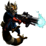 Rocket Raccoon (Earth-12131) from Marvel Avengers Alliance 0001