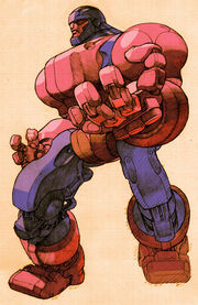 Sentinel Model COTA-94 (Earth-30847) from Marvel vs. Capcom 2- New Age of Heroes 001