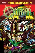 True Believers Annihilation - Quasar Vol 1 1