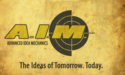 Advanced Idea Mechanics (Earth-199999) Logo