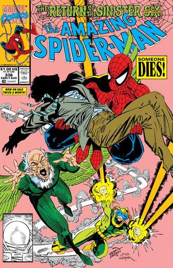 Amazing Spider Man Vol 1 336 Marvel Database Fandom