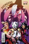 Avengers Vol 5 42 Women of Marvel Variant