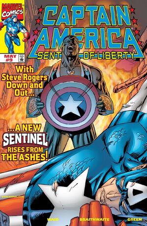 Captain America Sentinel of Liberty Vol 1 9