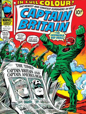 Captain Britain Vol 1 19