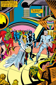 Crystalia Amaquelin (Earth-616) married to Quicksilver from Fantastic Four Vol 1 150