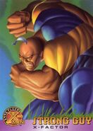 Guido Carosella (Earth-616) from X-Men Trading Cards 1996 Set 0001