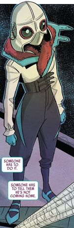 Gwendolyn Stacy (Earth-65) and Venom (Symbiote) (Earth-65) from Spider-Gwen Ghost-Spider Vol 1 4 001