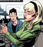Gwendolyne Stacy (Earth-71928) and Peter Parker (Earth-71928) from What If? The Punisher Vol 1 1 001