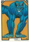 Henry McCoy (Earth-616) from Arthur Adams Trading Card Set 0001