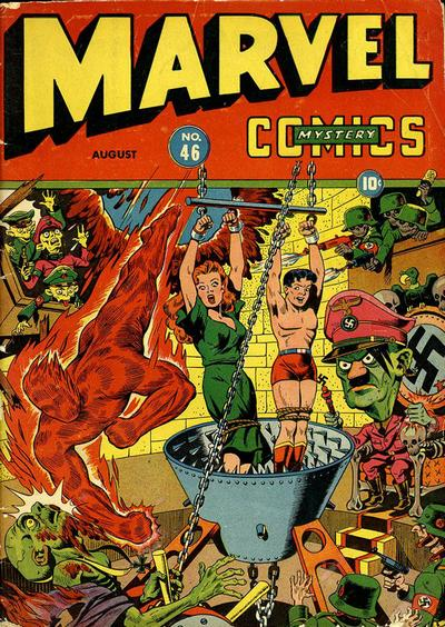 marvel comics mystery