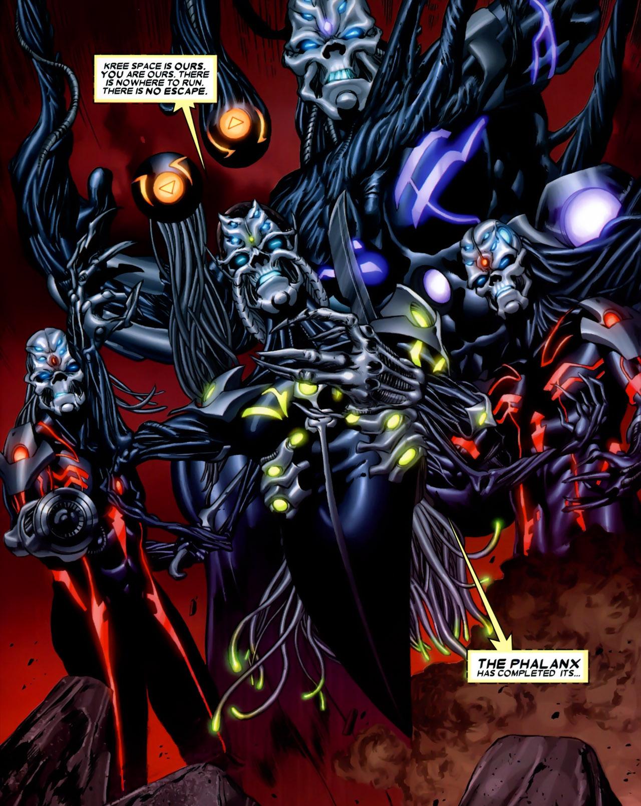 Phalanx (Race)   Marvel Database   FANDOM powered by Wikia
