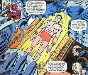 Zemo veranderd Simon Williams in Wonderman (Avengers -9)