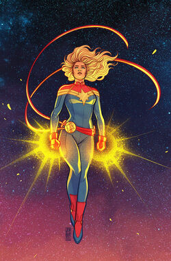 Carol Danvers (Earth-616) from Life of Captain Marvel Vol 2 4 Bartel Variant cover