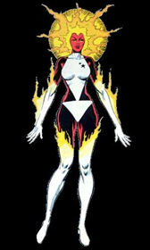 Carol Danvers (Earth-616) from Official Handbook of the Marvel Universe Vol 1 2 0001