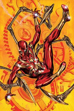 Deadpool Vol 7 14 Spider-Man Iron Spider Suit Variant Textless