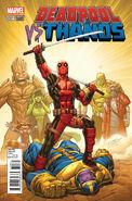 Deadpool vs. Thanos Vol 1 4 Lim Variant