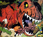 Devil Dinosaur (Earth-730834) from Avengers United They Stand Vol 1 7 0001