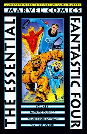 Essential Series Fantastic Four Vol 1 1