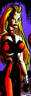 Euphoria (Earth-928) from X-Men 2099 Vol 1 12 0001