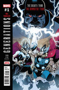 Generations The Unworthy Thor & The Mighty Thor Vol 1 1