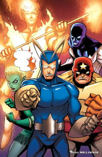 Guardians of the Galaxy (Earth-20051) from Captain America & the Korvac Saga Vol 1 1 0001
