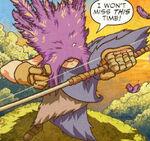 Hawk (Earth-TRN556) from Avengers Fairy Tales Vol 1 1 0001