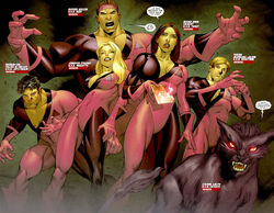Hellions (Earth-616) from New Mutants Vol 3 7 0001