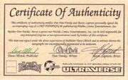 Lord Pumpkin Vol 1 0 Certificate