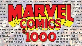MARVEL COMICS 1000 Launch Trailer