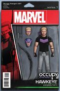Occupy Avengers Vol 1 1 Action Figure Variant