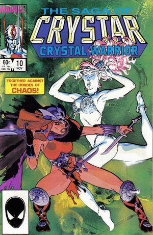 Saga of Crystar, Crystal Warrior Vol 1 10