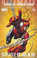 Ultimate Spider-Man Vol 1 160 Bendis Signed Variant 0001