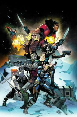 X-Force Vol 5 1 Textless