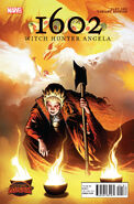 1602 Witch Hunter Angela Vol 1 1 Isanove Variant