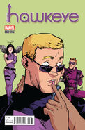 All-New Hawkeye Vol 2 3 Henderson Variant