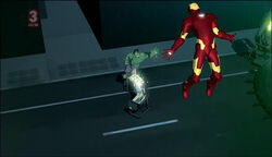 Bruce Banner (Earth-904913) and Anthony Stark (Earth-904913) from Iron Man Armored Adventures Season 2 22 0001