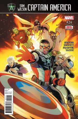 Captain America Sam Wilson Vol 1 24