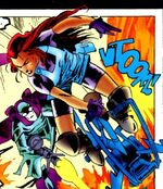 Chimera (Earth-928) from Fantastic Four 2099 Vol 1 1 001